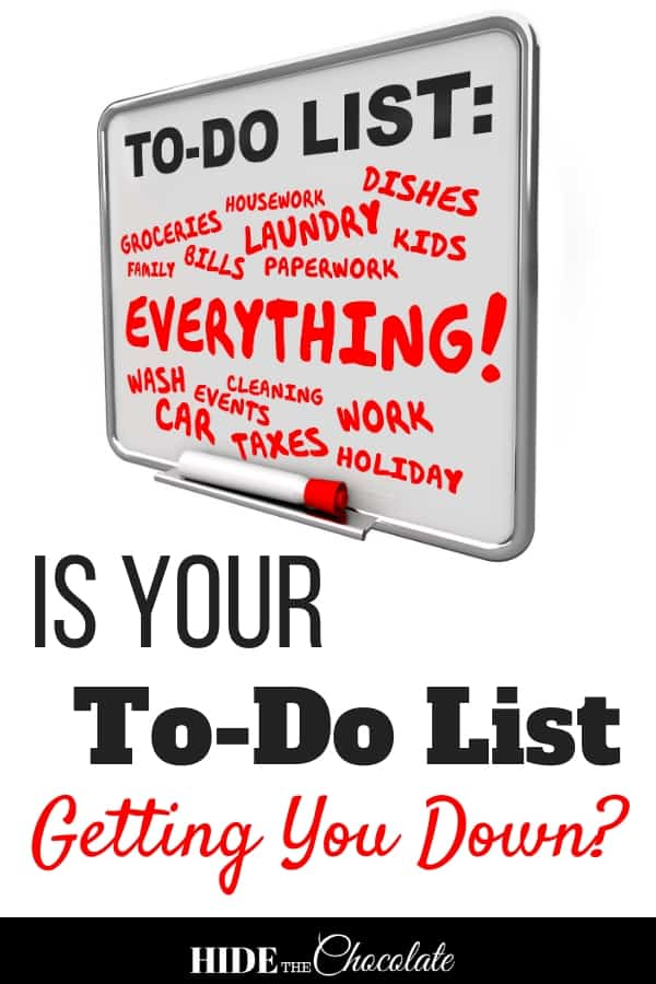 Did you check everything off the to-do list today? Some days the checklist doesn\'t get checked off because of [fill-in-the-blank]. Does this make you a bad mom?