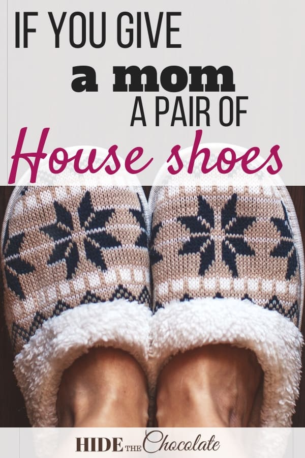 A mostly true story about house shoes... or lack thereof.