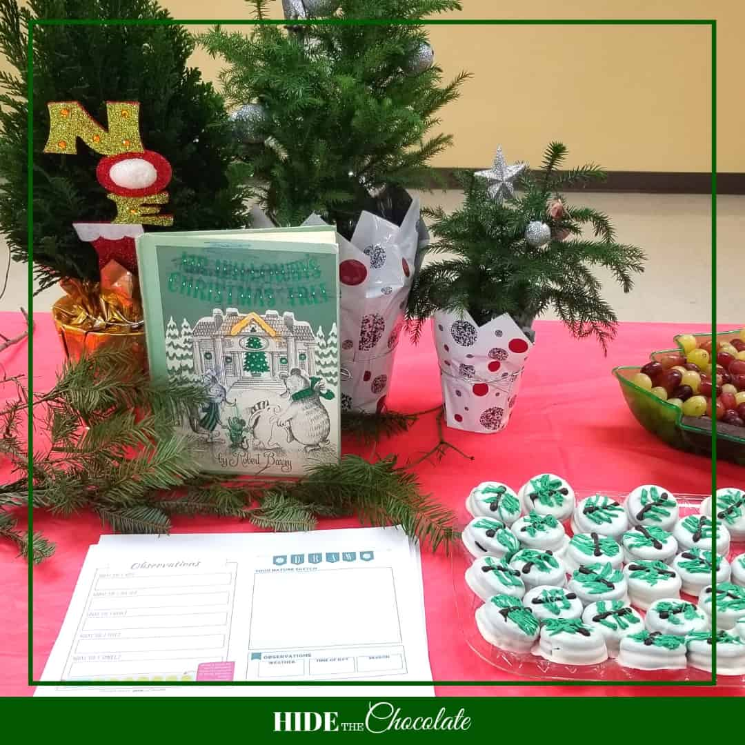 Mr. Willowby's Christmas Tree Nature Book Club - Table