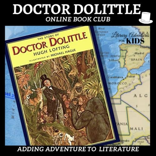 Doctor Dolittle Online Book Club Square