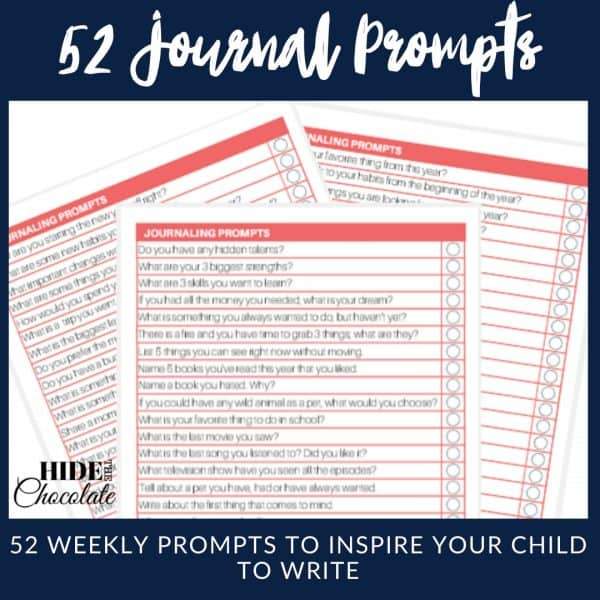 52 Journal Prompts