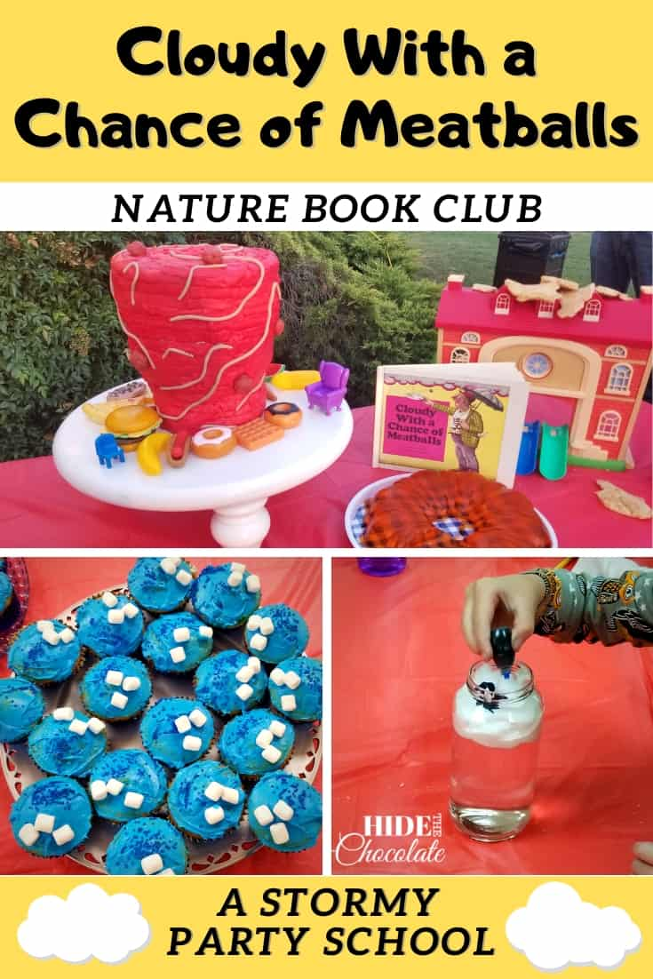 Cloudy with a Chance of Meatballs Nature Book Club PIN