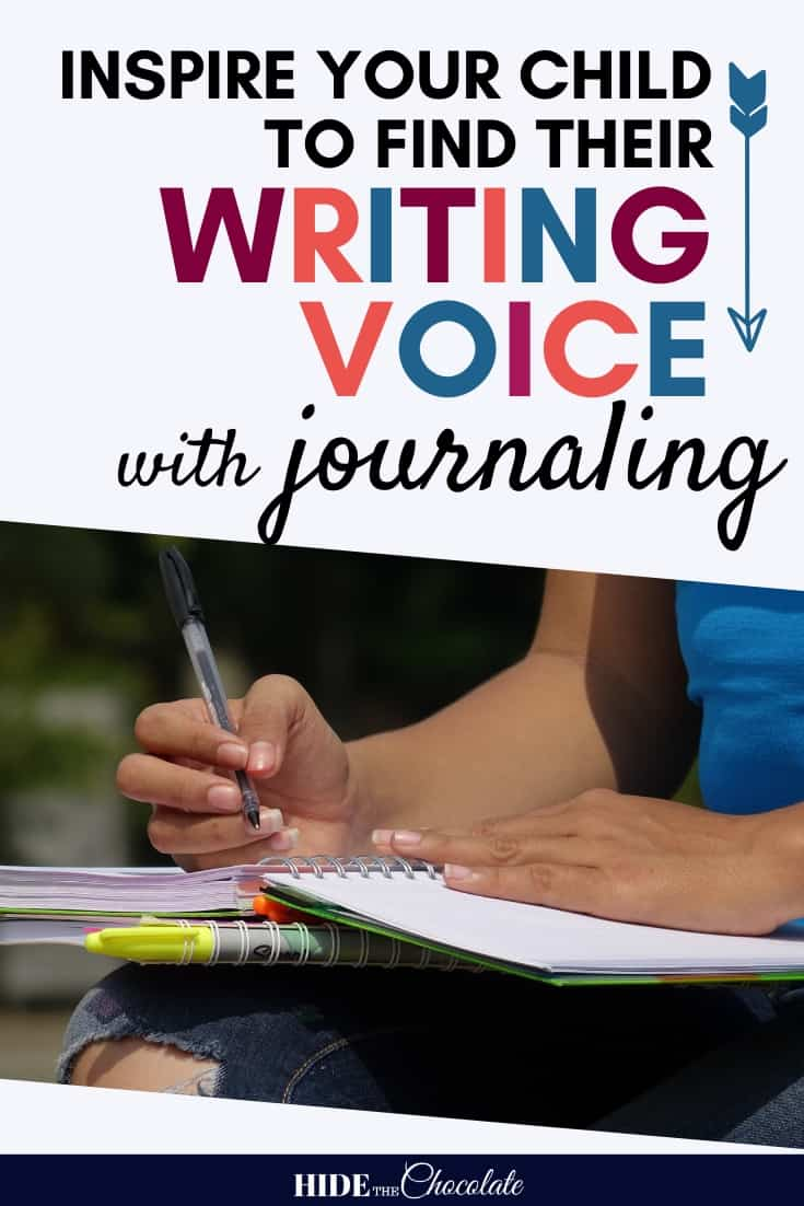Journaling is a great way to get your child to open up and reveal their writing voice. Because there are no rules to journaling, there is also no pressure.
