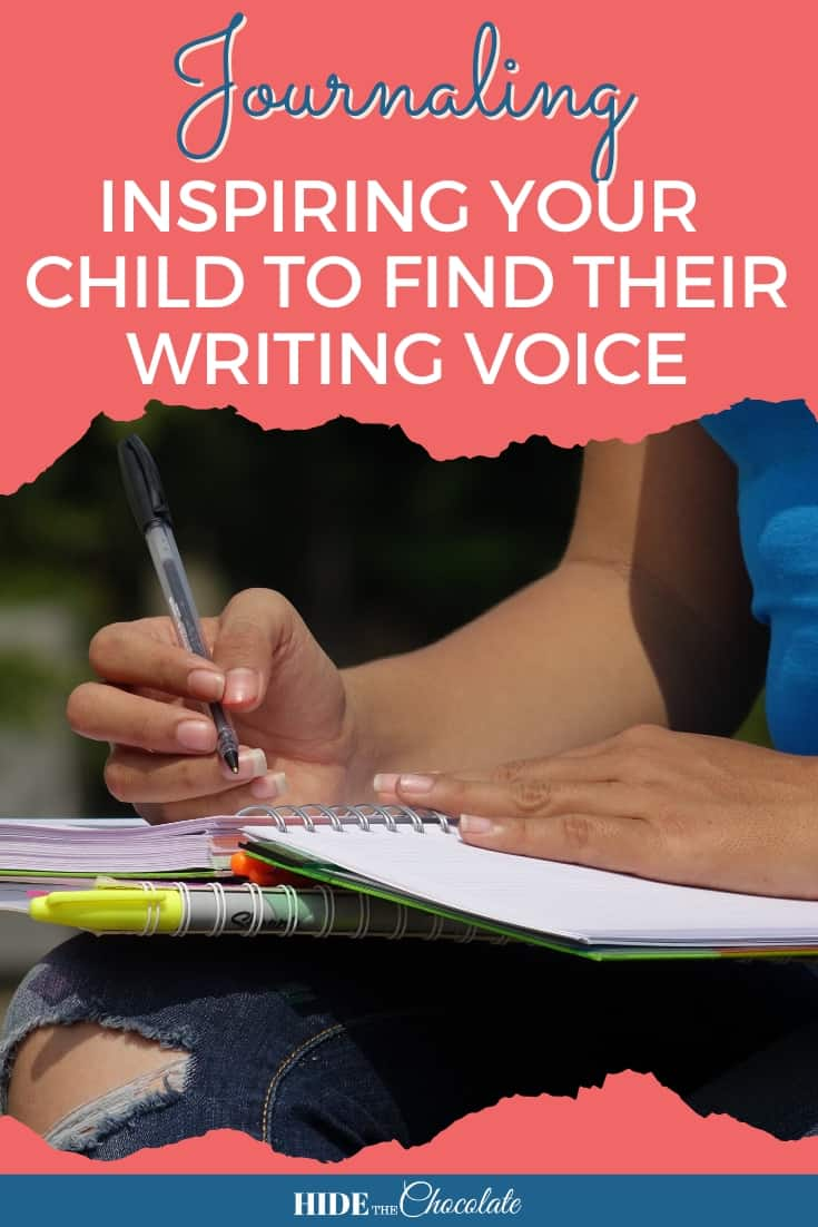 Journaling ~ Inspiring Your Child To Find Their Writing Voice PIN
