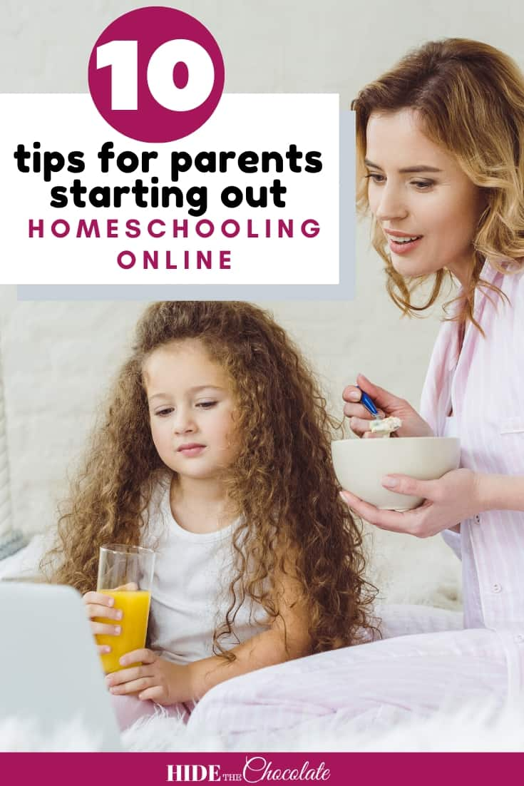 Ten Tips for Parents Starting Out Homeschooling Online