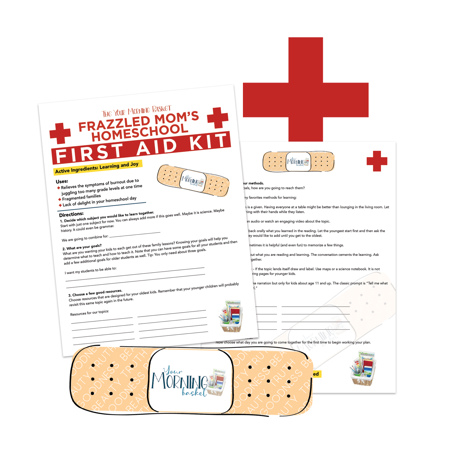 Frazzle Mom First Aid Kit