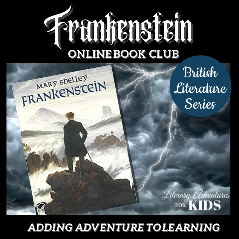Frankenstein Online Book Club for Teens