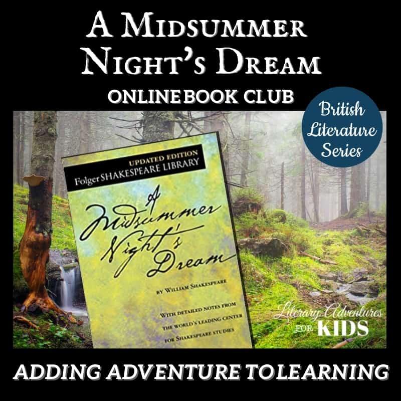 A Midsummer Night's Dream Online Book Club